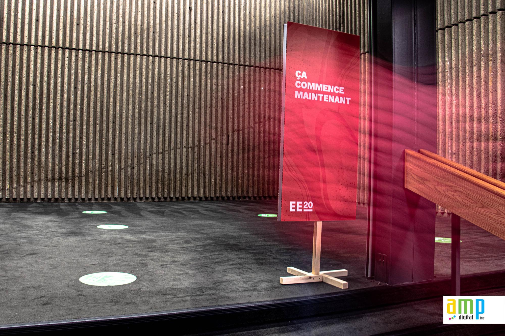 Expo Entrepreneurs 2020 Montréal Signalitique à