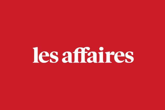 Logo les affaires rouge