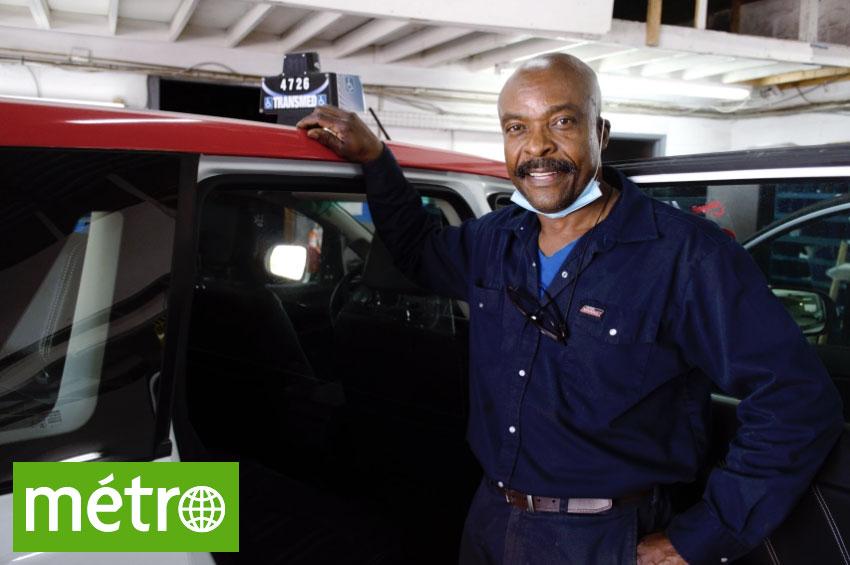Protection hygiénique pour taxi - Garage Pam'm - Journal Métro